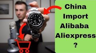 von Alibaba oder Aliexpress für Amazon aus China importieren, der Unterschied!