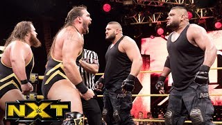 NXT Tag Team Champions The Authors of Pain vs. Heavy Machinery: WWE NXT, July 12, 2017