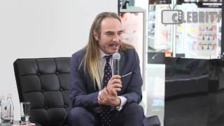 Public talk with John Galliano in Moscow, 19.05.2016