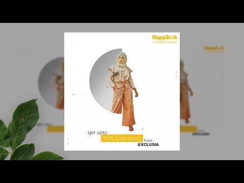 Social Media Ad - Fashion Banner Design in Adobe Photoshop CC 2019