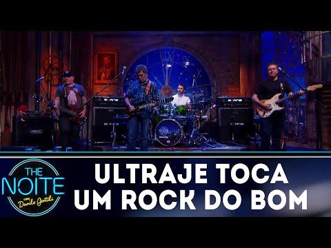 Ultraje a Rigor toca um rock do bom | The Noite (26/07/18)