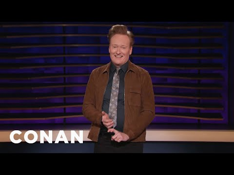 Conan On The First Time In History Glasses Didn't Make Someone Look Smarter - CONAN on TBS