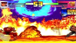 BTW MUGEN All-Stars #213 - Evil Ryu vs. Evil Ken