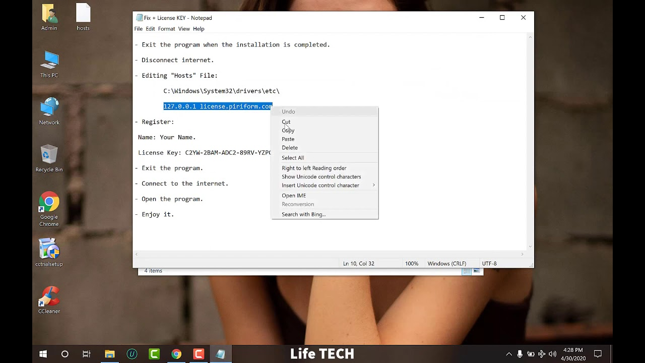 CCleaner Professional 5 66 License Key 2020 - YouTube
