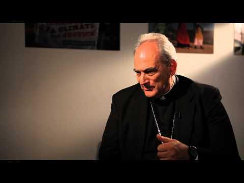 CAFOD: Bishop Marcelo Sorondo; Faith and climate change