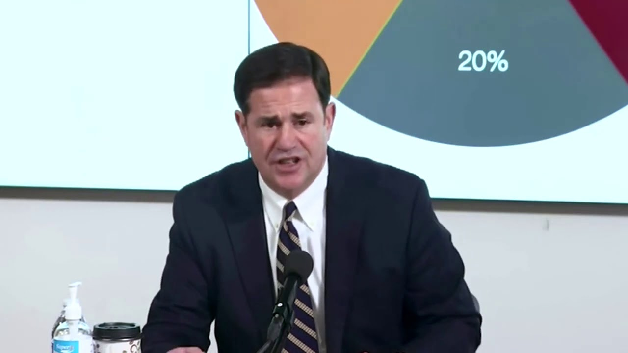 Gov Ducey Orders Arizona Bars Gyms And Theaters Closed