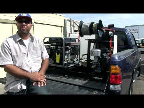 Mobile Detailing Skid Mount - Auto Detailing Equipment For Eric Nickerson