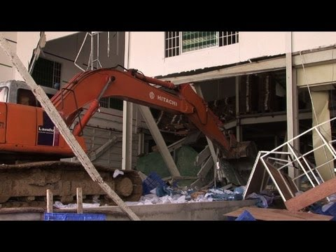 Cambodia shoe factory collapse kills two