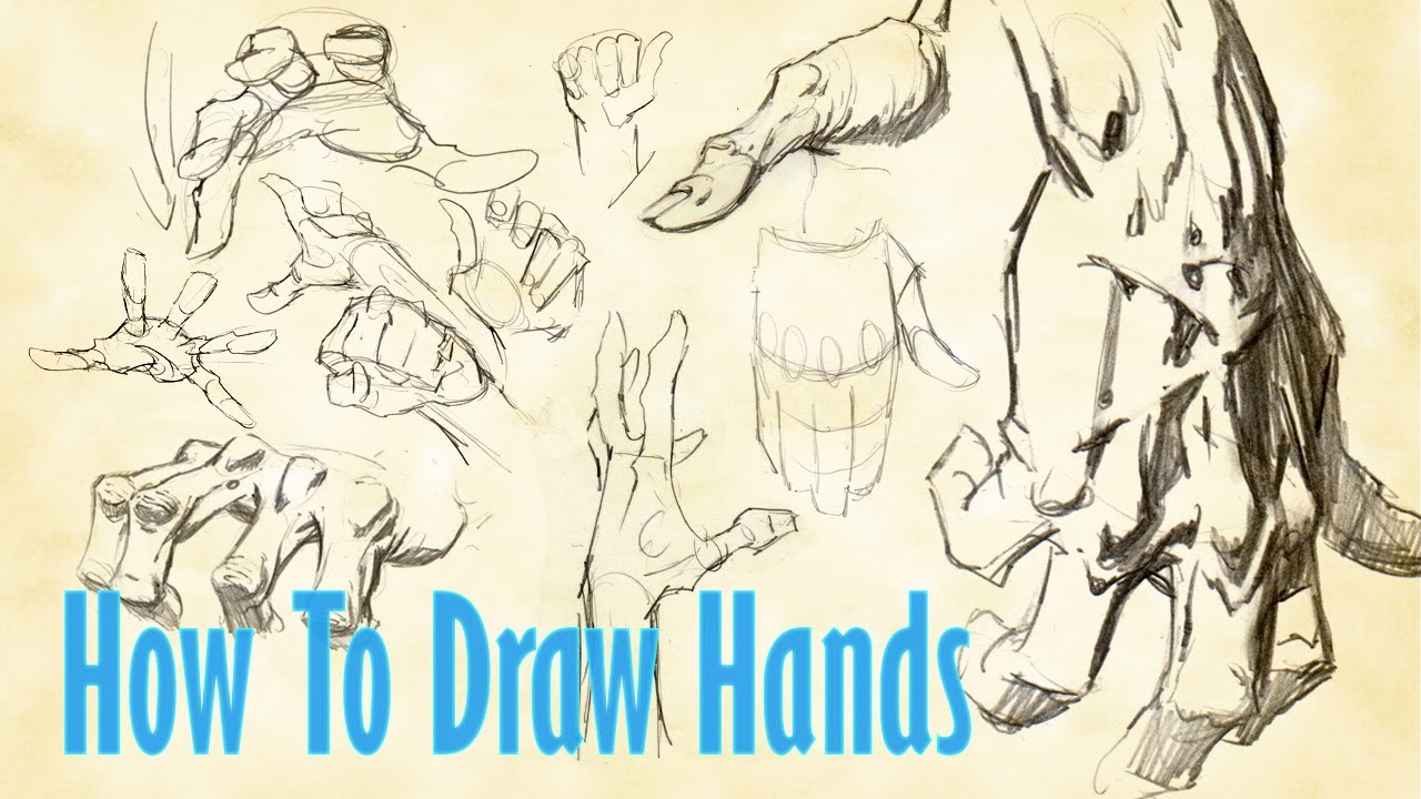Download How To Draw HANDS