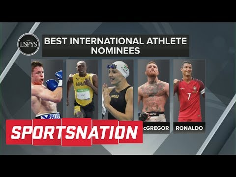McGregor, Ronaldo Or Bolt: Who Wins Best International Player ESPY? | SportsNation  | ESPN