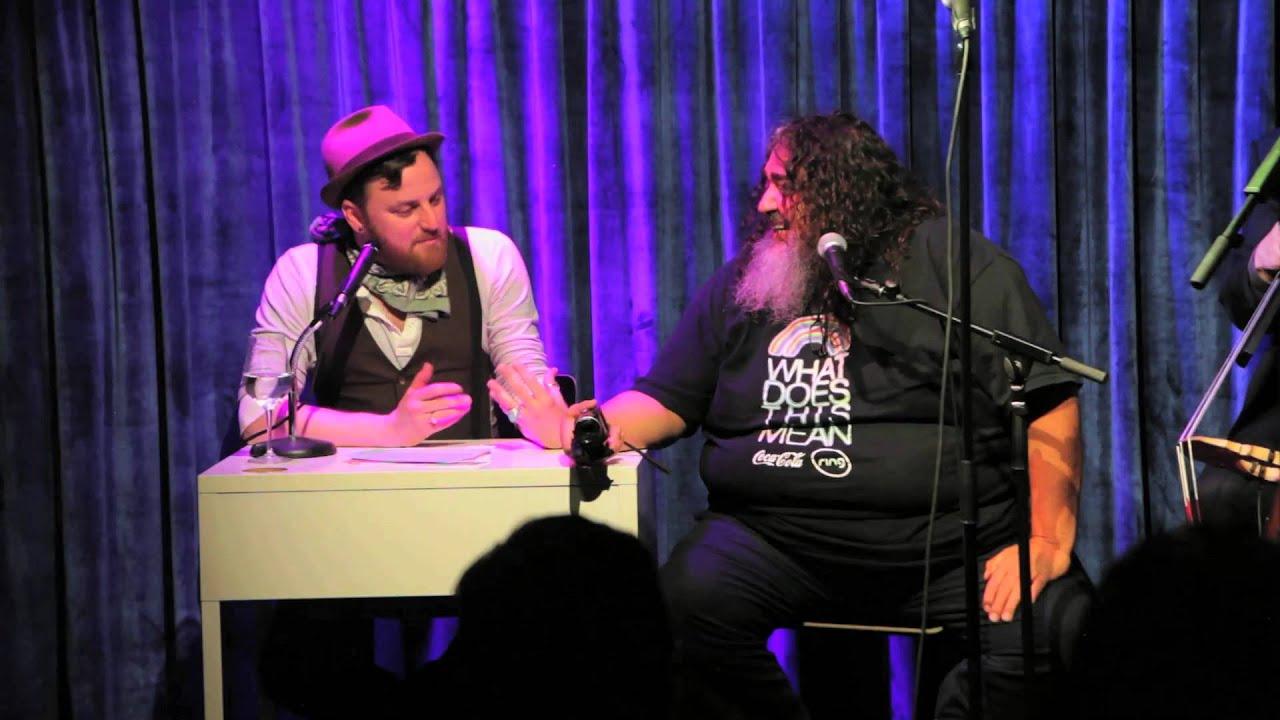 Bear Vasquez (the Double Rainbow Guy) on The Kinda Late Show - YouTube