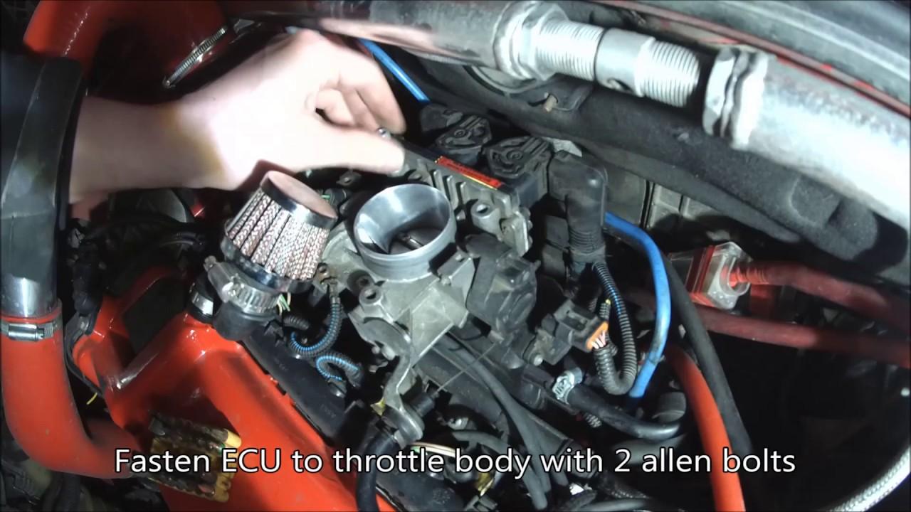 Schema Elettrico Fiat Punto 1 2 8v : Fiat punto mk b v how to change ecu youtube