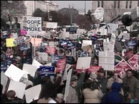 ELECTION 2000:SCOTUS RECOUNT PROTEST