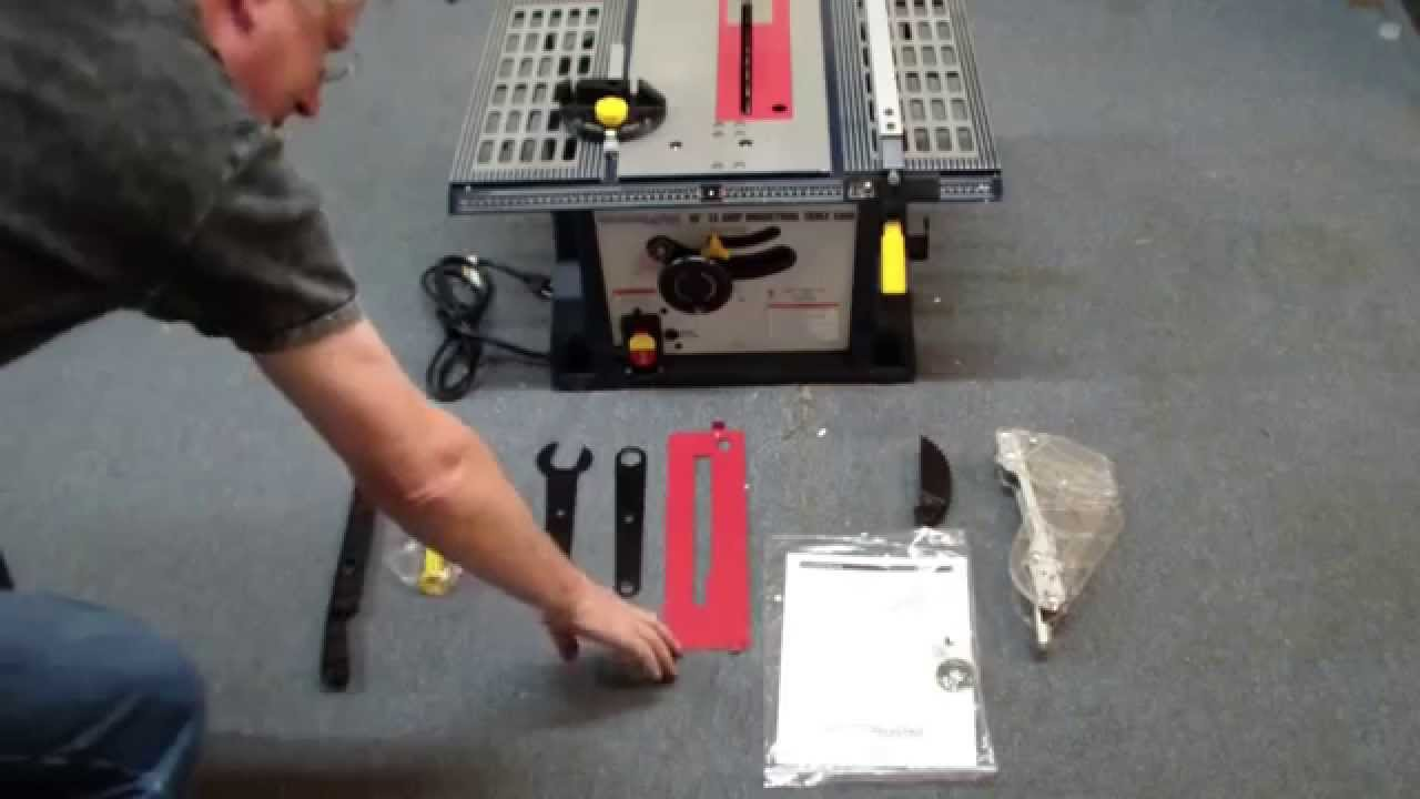 maxresdefault chicago electric table saw review youtube Powermatic 66 Table Saw at eliteediting.co