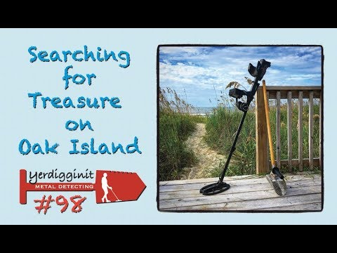 Finding Treasure On Oak Island • Metal Detecting • Drone Flying • Lighthouse Climbing • MD#98