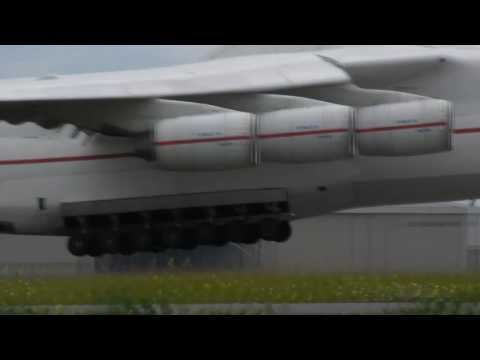 The Antonov 225 ,Worlds biggest airplane landing at Schiphol Travel Video