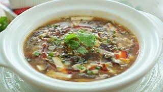 Hot & Sour Tofu Soup - 酸辣豆腐湯