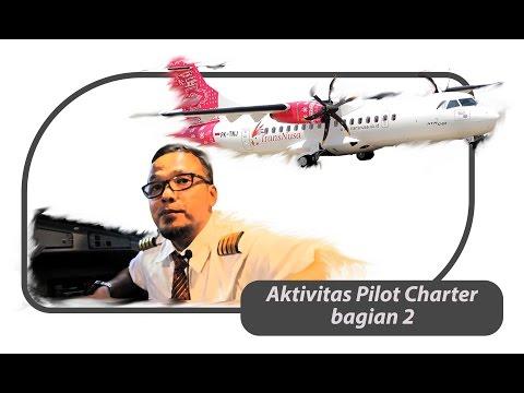 Aktifitas Pilot Charter ( Bagian 2 ) Transnusa Aviation - ATR