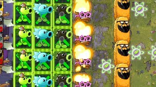 Plants vs Zombies 2 Battlez This Week Strategy - Peashooter and Torchwood on Fire