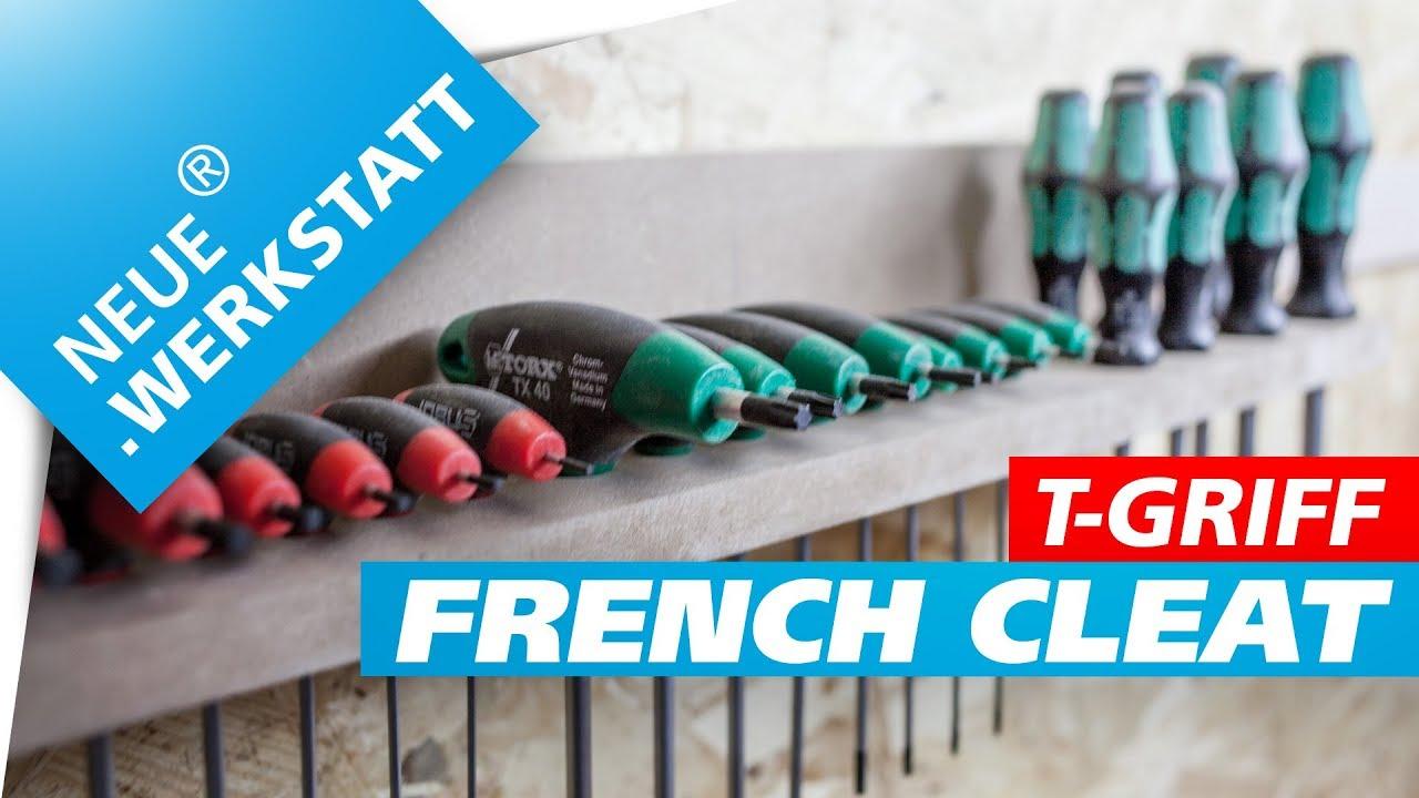 werkzeughalter anleitung /// für eine french cleat werkzeugwand // t