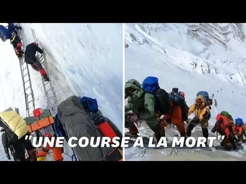 Un grimpeur raconte l'enfer de l'ascension de l'Everest