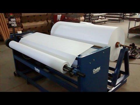 Rebobinadeira de papel kraft ou sublim tico mod om rbpa - Papel de vinilo para cocinas ...