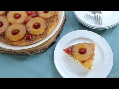 How To Make Old Fashioned Pineapple Upside Down Cake | Cake Recipes | Allrecipes.com