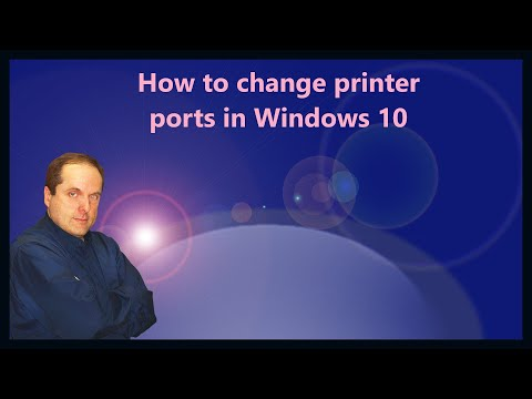 How to change printer ports in Windows 10