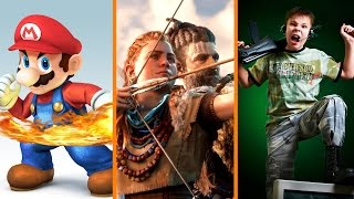 Smash Bros for Switch? + Horizon NOT Maxing PS4 Pro + Video Games DON'T Cause Violence - The Know