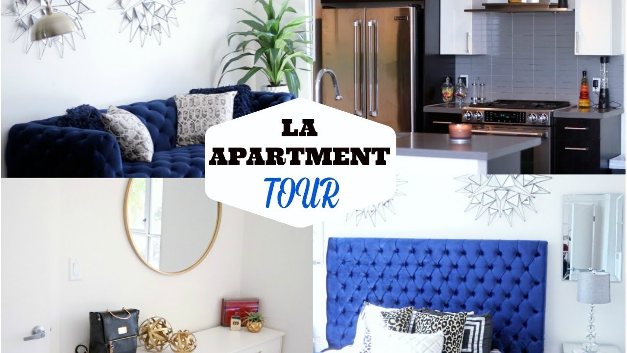 APARTMENT TOUR | MY FIRST LA APARTMENT 2018 | Shalom Blac