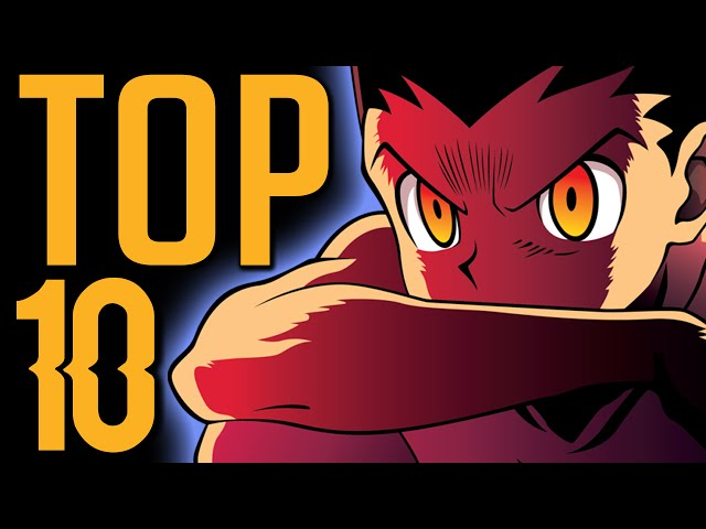 TOP 10 PERSONNAGES HUNTER X HUNTER