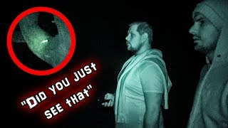 Did We CAPTURE PARANORMAL Activity at HAUNTED Woods?