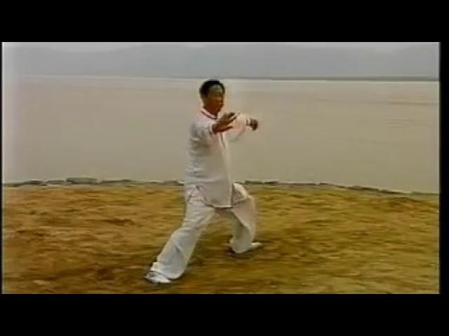 Wang Xi An - Tai Chi style Chen Laojia Yilu 1990's  [陈氏太极拳老架 Taijiquan style Chen]