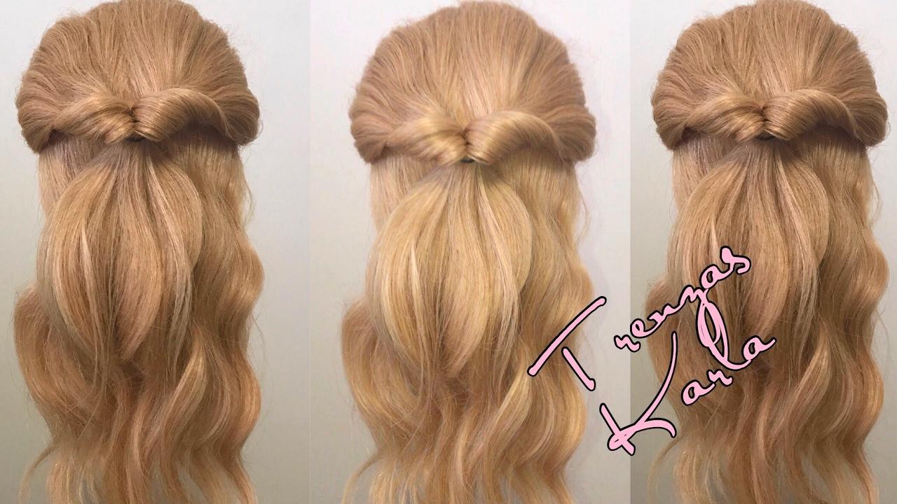 Peinados con el cabello suelto y semirecogido