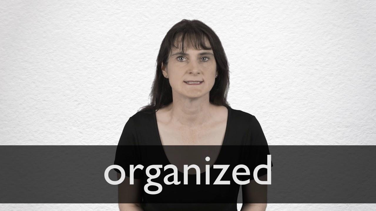 Synonym Of Organized Chaos