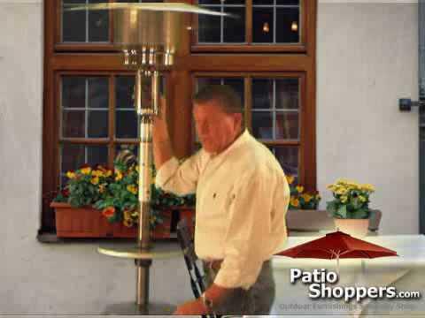 Outdoor Propane Patio Heater Information