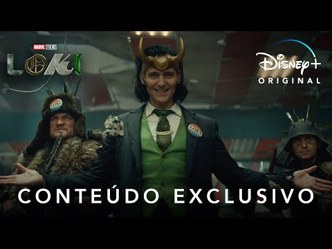 Loki | Marvel Studios | Conteúdo Exclusivo Legendado I Disney+