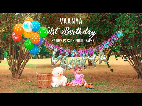 VAANYA FIRST BIRTHDAY | By Love Passion Photography | 9888-48-5051