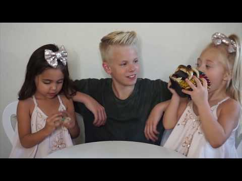 Everleigh Soutas and Ava Foley find out who Carson Lueders likes?!? I Foreverandforava