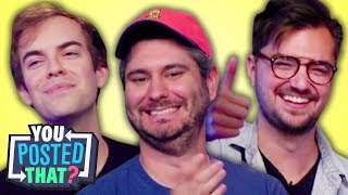 h3h3, Jacksfilms, and Elliott Morgan | You Posted That? thumbnail