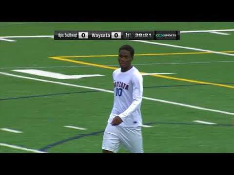 Minneapolis Southwest vs. Wayzata Boys Section Soccer