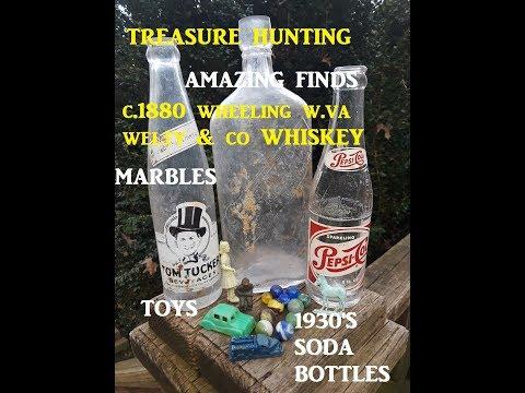 Ohio Treasure Hunting Amazing Finds Bottles Toys & MORE!!
