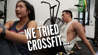We Tried Crossfit.. A KILLER WORKOUT | February 17-18