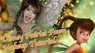Disney Fairies: Fawn Makeup!
