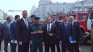 Дмитрий Медведев спросил откуда в Чите столько дыма