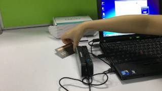 How to use Lanora LNR820 Magnetic Card Writer by USB Cable?