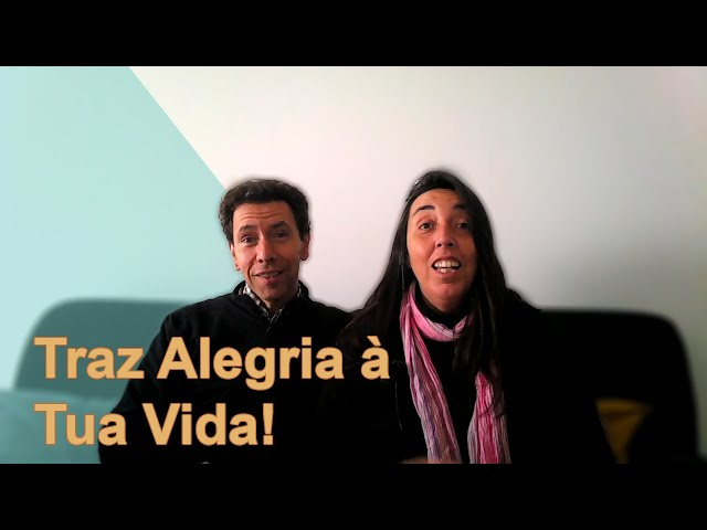 TRAZ ALEGRIA À TUA VIDA!