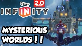 Disney Infinity 2.0 - Toy Box Share - MYSTERIOUS WORLDS!!