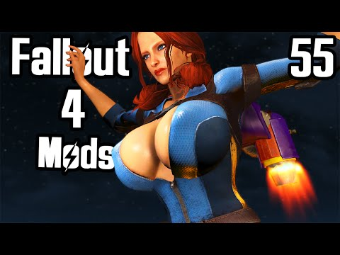 Fallout 4 Mod Review 55 - ATOMIC BEAUTY AND JETPACKING BOOBIES - Boobpocalypse