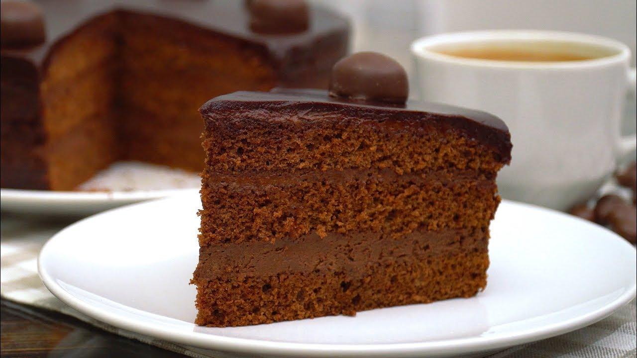 Торт ТРЮФЕЛЬНЫЙ! КОРОЛЬ ШОКОЛАДНЫХ ТОРТИКОВ Простой рецепт Торта на праздник | Кулинарим с Таней